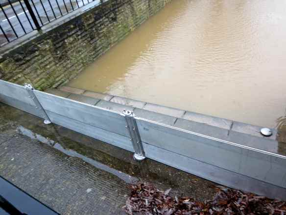 River Severn high water 31.12.12 - 01
