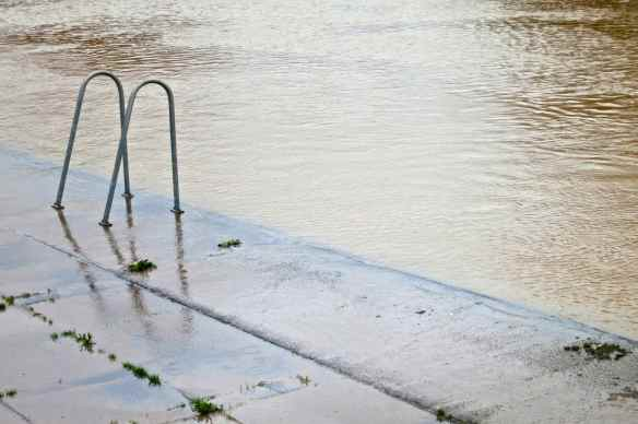 River Severn high water 31.12.12 - 19