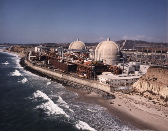 San Onofre nuclear power station, California