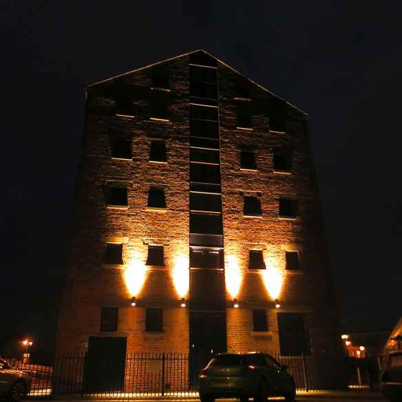 Lock Warehouse lighting 15.02.13 - 15