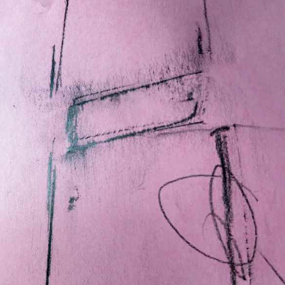 Graphite crayon rubbing 15.06.13 - 09