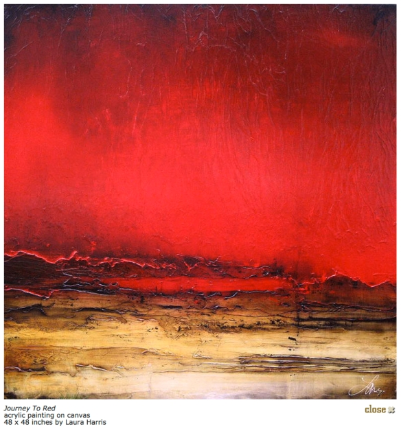 journey to red - laura harris