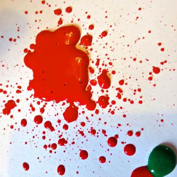 Paint splatter 24.06.13