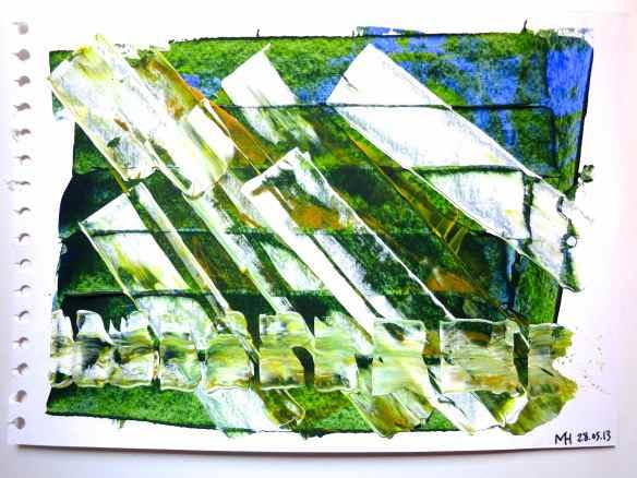 Acrylic painting 31.05.13 - 2